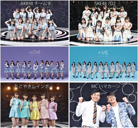 【SKE48】7D2がアイドルのチカラに出演!!!