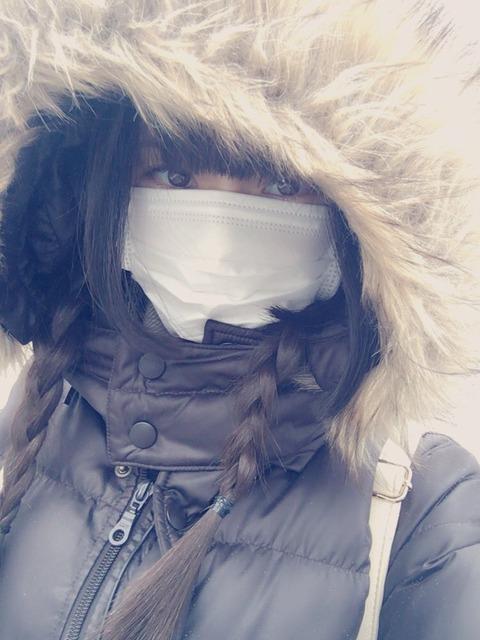 【NMB48】防寒仕様のみおりんが可愛い!!!【市川愛美】