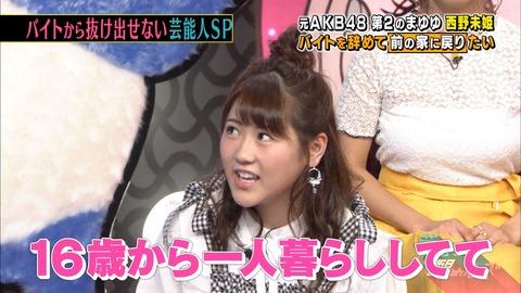 【元AKB48】西野未姫、在籍時は品川区のタワマン1LDK家賃21万に住んでいた!!!