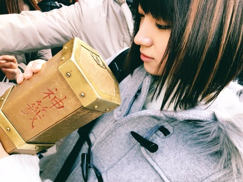 【AKB48】岡田奈々さん、正月は太田夢莉と京都旅行を楽しんだ模様
