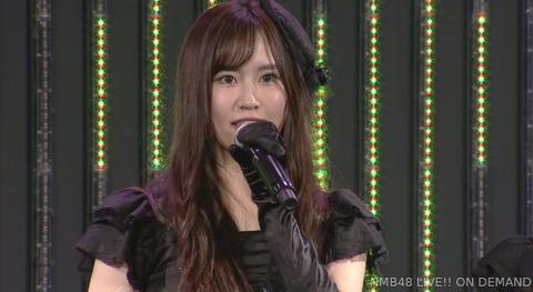 【悲報】NMB48古賀成美、劇場公演で卒業発表