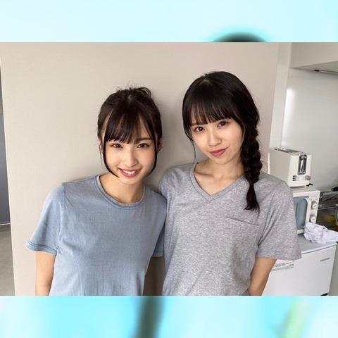 【STU48】沖舞のお〇ぱいwwwwww【沖侑果・中村舞】