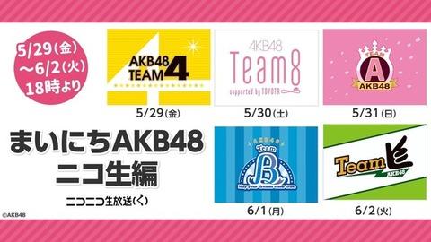 【朗報】AKB48劇場公演、生誕乞食終了のお知らせwwwwww