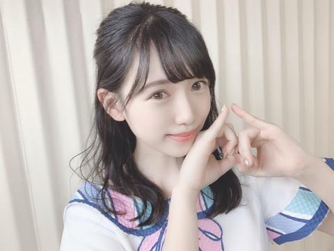【朗報】運上弘菜ちゃん、HKT48で1番人気になったことをご報告いたします
