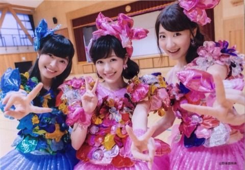 【AKB48】指原莉乃&柏木由紀&渡辺麻友の旧三銃士が好きな奴
