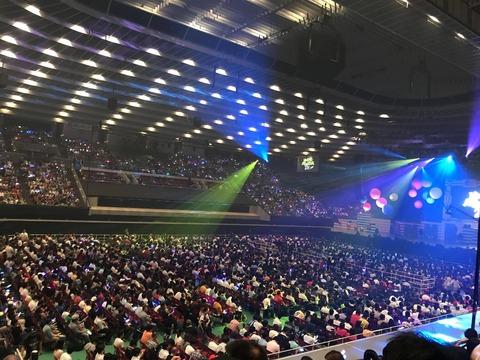 【朗報】NMB48アリーナツアー大坂城ホールが超満員!!!