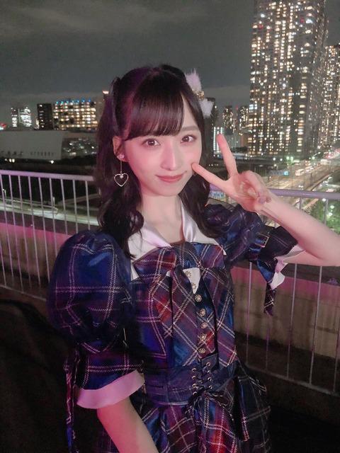 【AKB48 】小栗有以ちゃん、ばったり小嶋陽菜さんに会う