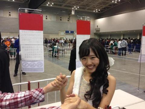 【AKB48】今だから言うけど、内山奈月の握手会ってガチですごかったな
