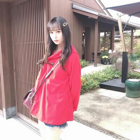 【朗報】NMB48梅山恋和さん、えちえちな格好で京都を練り歩く【557】