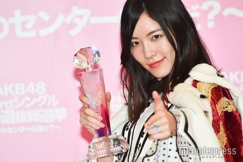 【AKB48】「新女王」松井珠理奈の姿なし、新曲「TVお披露目」欠席の事情