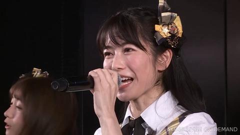 【AKB48】9期10周年公演のゆいはんがガリガリに痩せてて心配【横山由依】