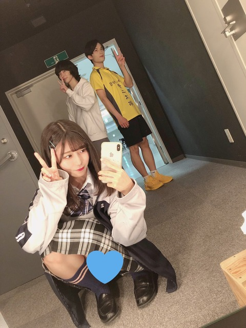 【悲報】NMB48菖蒲まりんが自撮りパンチラ・・・