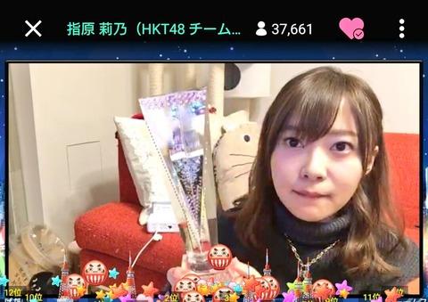 【HKT48】指原莉乃とかいう年末のクソ忙しい時期にSHOWROOM配信をする怪物