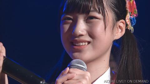 【AKB48】生誕祭でスピーチが短かったメンバーランキングが発表される