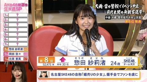 【SKE48】惣田紗莉渚「乗っている車両で喧嘩が始まって気分悪くなった」