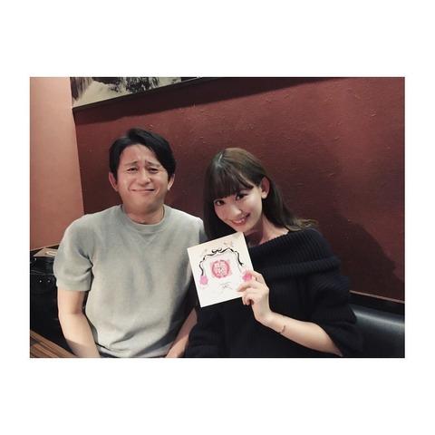 【画像】有吉AKB共和国終了で小嶋陽菜と有吉が初の2ショット