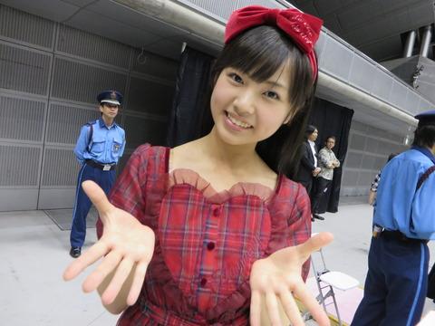 【画像】HKT48の3期生の山内祐奈ちゃんが可愛い過ぎる件