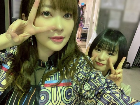【朗報】指原莉乃さん、あのNGT48メンバーと2ショットを撮る!!!