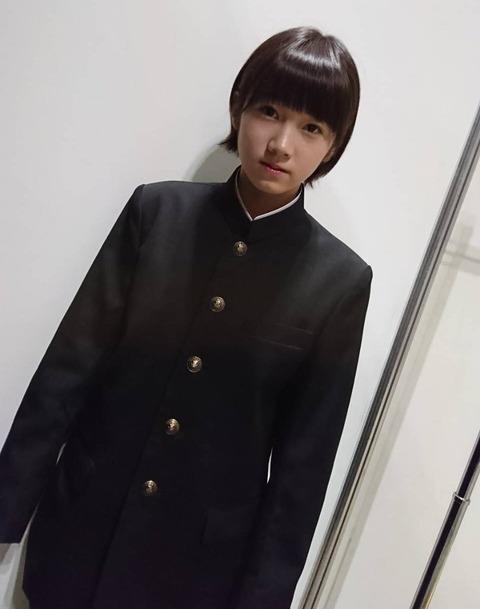 【STU48】甲斐心愛の学ラン姿が美少年過ぎて関係者に大ウケ!