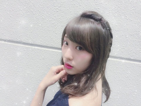 【NMB48】吉田朱里がメイクした藤江れいなが可愛いと話題に。指原莉乃も大絶賛!