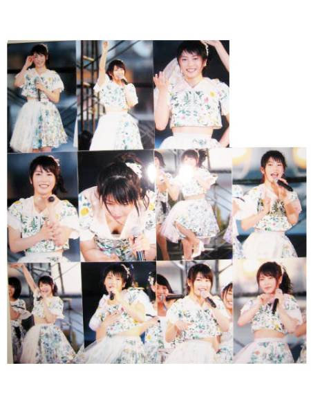 【AKB48】神戸まつり2017前夜祭ライブ中のゆいはんのおっぱいポロリの瞬間が盗撮されて売られてる【横山由依】