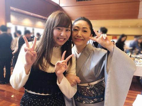 【HKT48】坂口理子が とんでもない大御所と共演してるんだけど!!!