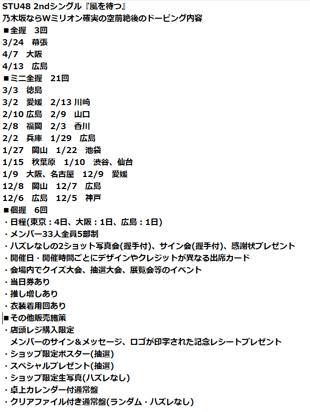 【STU48】初週売り上げのカラクリ全貌、昨年12月から握手会を重ね、発売日までに実に18回の握手会を実施