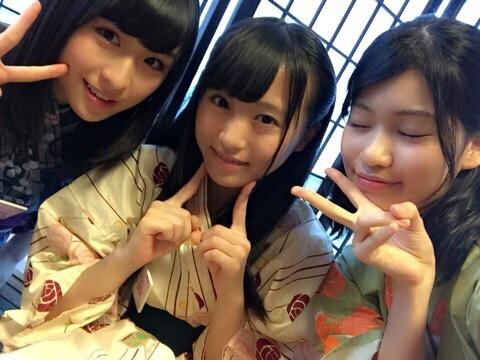 【お題】この3人組のユニット名を考えよ【川本紗矢・坂口渚沙・東李苑】