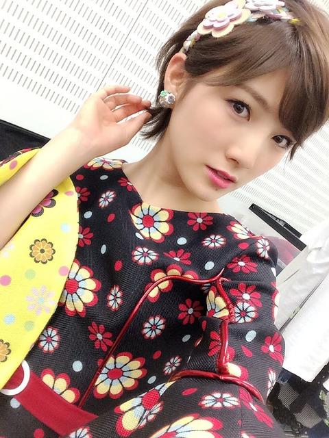 【悲報】AKB48岡田奈々が体調不良のため休養