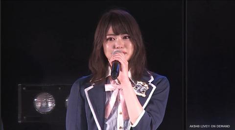 【AKB48】前田亜美が劇場公演の自身生誕祭で卒業発表
