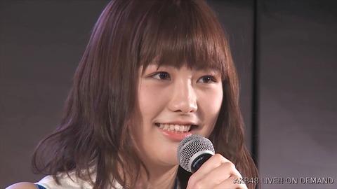 【AKB48】D1横島亜衿が劇場公演で卒業発表