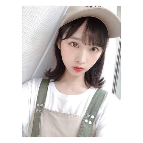 【AKB48】ゆいゆい「なぎちゃん髪染めたの?私は『まだ』黒かな」【小栗有以】