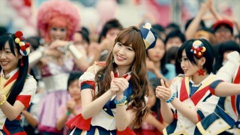 AKB48の楽曲は一般人に全く浸透してない。。。