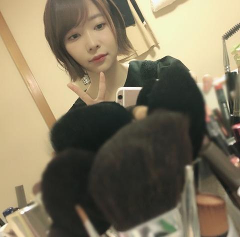 【SKE48】松井珠理奈さん、指原莉乃さんに白髪予防トリートメントを贈る