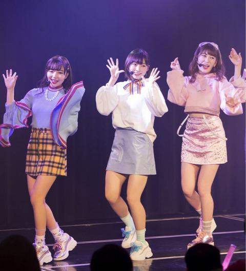 【NMB48】女子受けメンバーTOP3ってこの三人だよね?