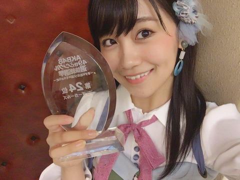 【AKB48】こじまこが去年から順位を落としたのが謎なんだが・・・【小嶋真子】