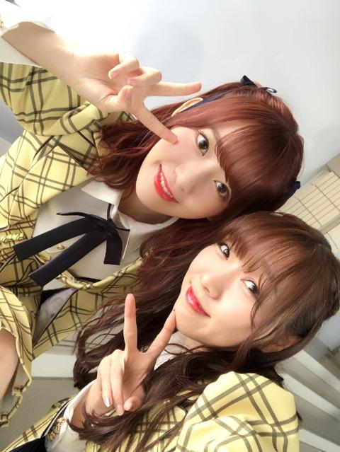 【SKE48】エースの須田亜香里さん「アイドル人生で宮脇咲良ちゃんと交れてよかった!ありがとう!」