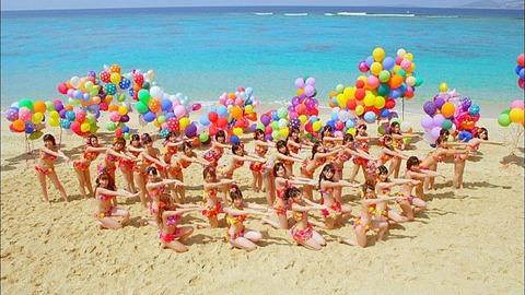 【AKB48G】売れるために中高生までもが水着を志願するとか…