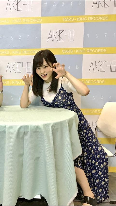 【AKB48G】写メ会の写真を見返したとき自分がキモすぎて辛い