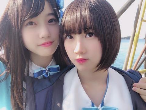 【朗報】STU48の甲斐心愛ちゃんが女の子になってきた!