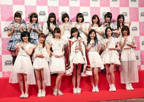 【AKB48G】今のメンバーで一般認知度50%以上ってこじはる、指原、峯岸、山本までだよな