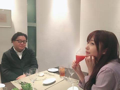 【HKT48】指原莉乃が秋元康と高級レストランでディナー