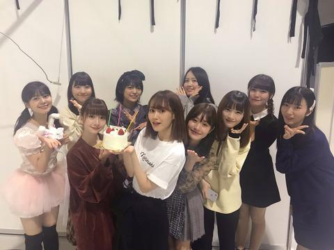 【池沼スレ】人望民「西潟茉莉奈ちゃんがNGTメンバーから誕生日をお祝いされる。ジャスティスまた負けたのか…」