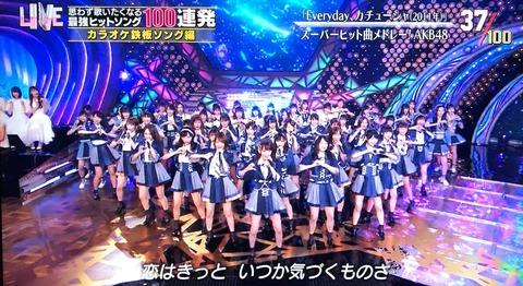 【AKB48】テレ東音楽祭を見て分かったこと