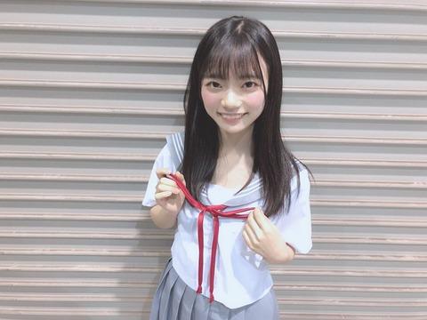 【SKE48】中学8年生のロリババアが可愛いと話題に!【西満里奈】