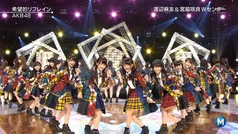 【AKB48】Mステで、ワイプに抜かれた回数ランキング!!【希望的リフレイン】