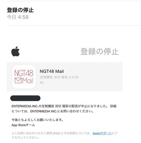 【NGT48】謹慎中の羽切瑠菜の解雇が確定か?