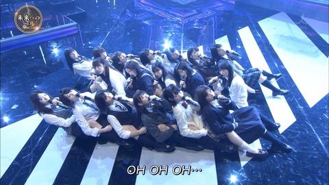 【画像】「音楽の日」で欅坂46が放送事故wwwwww