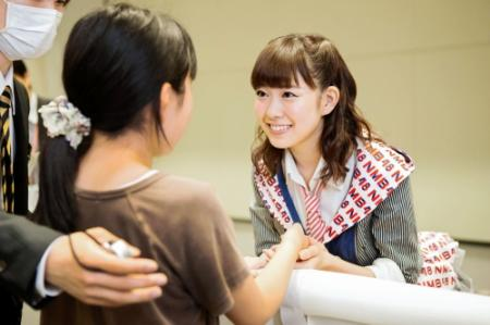 【朗報】NMB48渡辺美優紀の握手人気が逆に前より上がってる