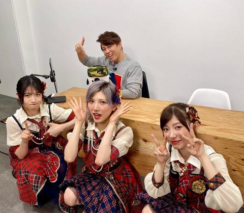 【AKB48】岡田奈々、村山彩希、武藤十夢が外仕事では仮猫になってしまう事が判明